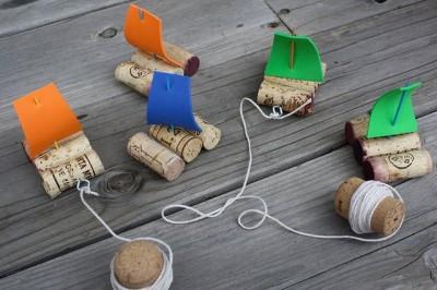 Juguetes reciclados para la playa y el jardín.  (14)