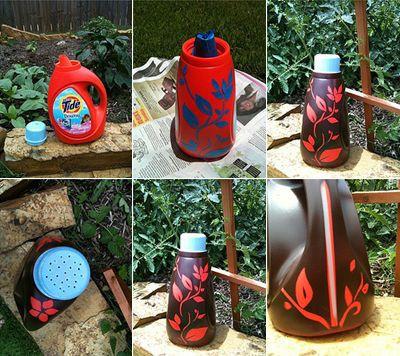 Juguetes reciclados para la playa y el jardín.  (3)
