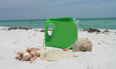 Juguetes reciclados para la playa y el jardín.  (6)