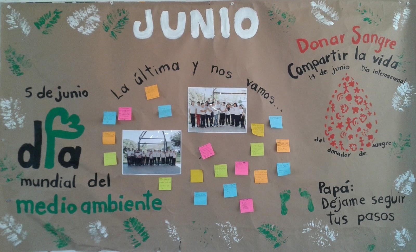Peri dico mural de junio 5 imagenes educativas for Amenidades para periodico mural