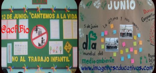 PERIÓDICO MURAL de Junio Collage Portada