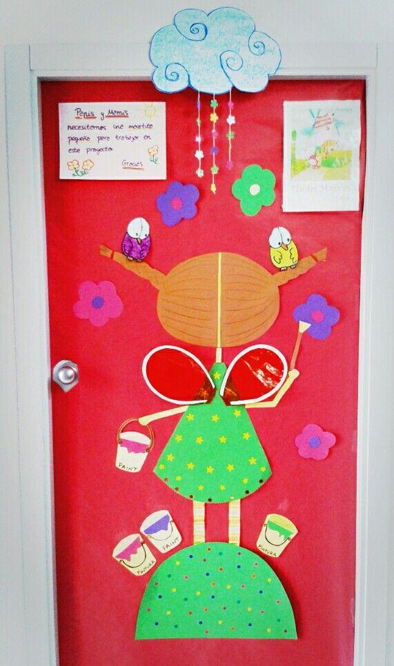 Primavera puertas 18 imagenes educativas for Puertas decoradas para el 10 de mayo