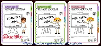 Cuadernillos de Repaso Escolar 2014 Collage