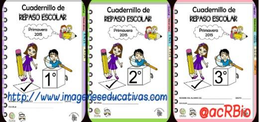 Cuadernillos de Repaso Escolar Primero Portada2