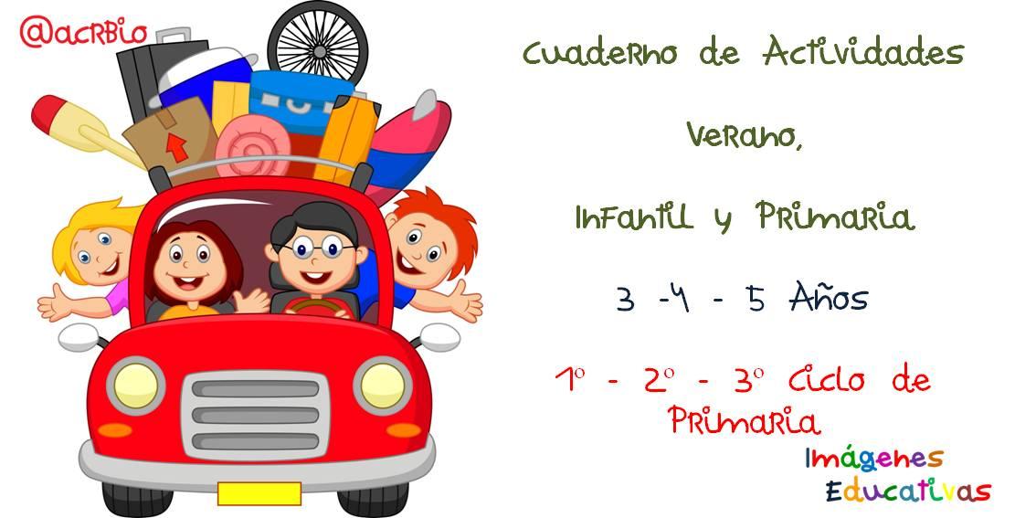 Libreta De Dibujo Con Dibujos Infant: Cuaderno De Actividades Verano Portada