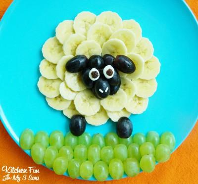 Decoraciones veraniegas para nuestros platos de fruta