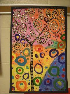 El arte en el aula trabajamos con Gustav Klimt  (5)