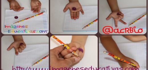 Truco enseñar a coger el lápiz correctamente Portada