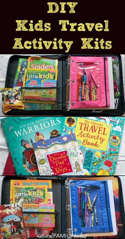 Kits De Viaje Y Organizadores De Coche Diy Para Viajar Con