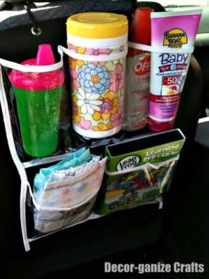 kits de viaje y organizadores de coche DIY Para viajar con niños (5)