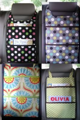 kits de viaje y organizadores de coche DIY Para viajar con niños (9)