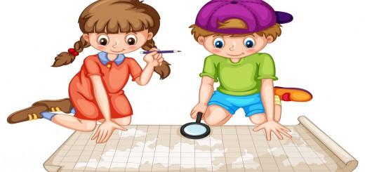 Impresionante Atlas para Infantil y primaria en Imágenes Portada