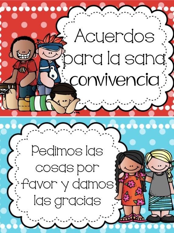 Acuerdos Para La Sana Convivencia Dentro Del Aula Imagenes Educativas