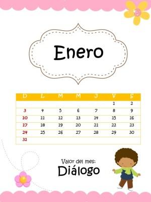 Agenda 2015 2016 Motivo niñas (88)