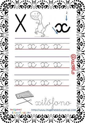 Cuaderno de trazos Imágenes Educativas letra escolar (25)