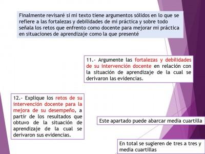 Expediente o portafolios de evidencias. Autoevalua tu texto de análisis (11)