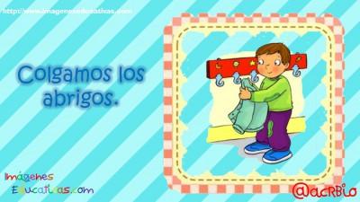 Normas para infantil, Preescolar y Primaria. Imprimibles Azul (3)