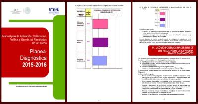Planea diagnóstica 2015 – 2016 Portada