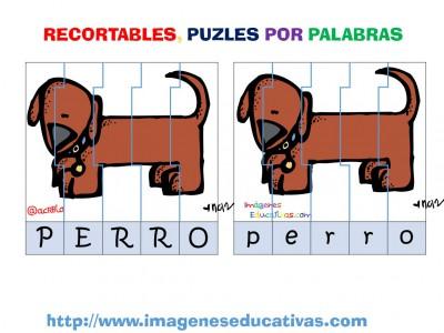 Puzle por letras animales (3)