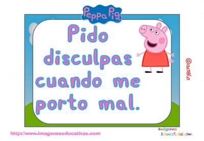 Tarjetas normas de clase Peppa Pig (11)
