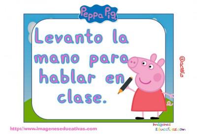 Tarjetas normas de clase Peppa Pig (15)