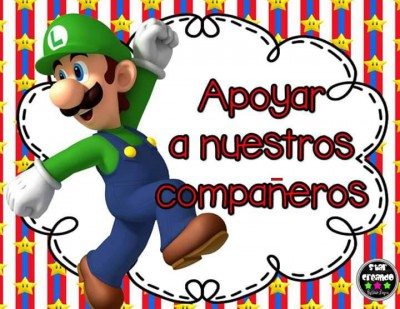 Acuerdos de Grupo. Motivos Mario Bros (5)
