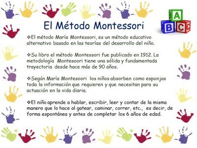 El método MONTESSORI (4)