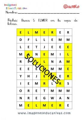 Elmer Elefante atención y grafo (10)