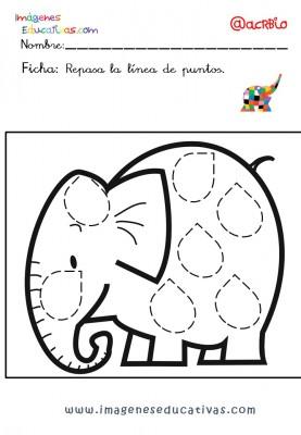 Elmer Elefante atención y grafo (24)