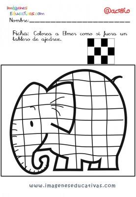 Elmer Elefante atención y grafo (8)