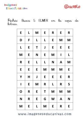 Elmer Elefante atención y grafo (9)