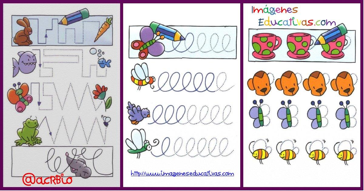 Imagenes Educativas Para Descargar: Completo Cuaderno De Grafomotricidad Listo Para Descargar