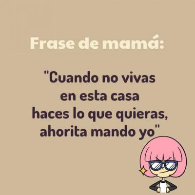 Frases de Mamá (1)