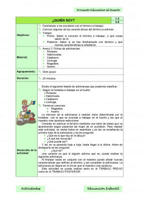 Nuestro proyecto educativo. El huerto escolar (6)