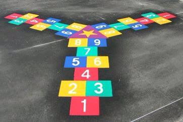Nuevos diseños de juegos tradicionales para decorar nuestro patio (47)
