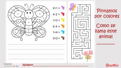 Pintamos por colores y números. Actividades matemáticas para colorear y aprender (2)