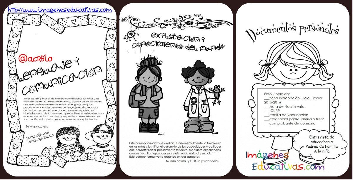 Imagenes Para Portada De Español Para Colorear: Portadas Para El Expediente