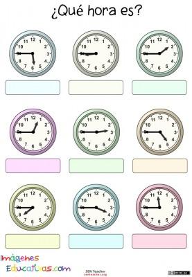 Trabaja las horas y los relojes  (13)