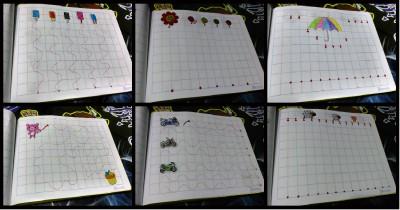 Cuaderno Grafomotricidad casero Portada