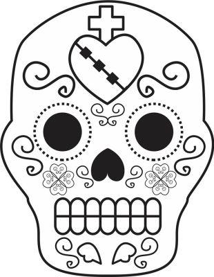 Dibujos para colorear el día de los muertos (55)