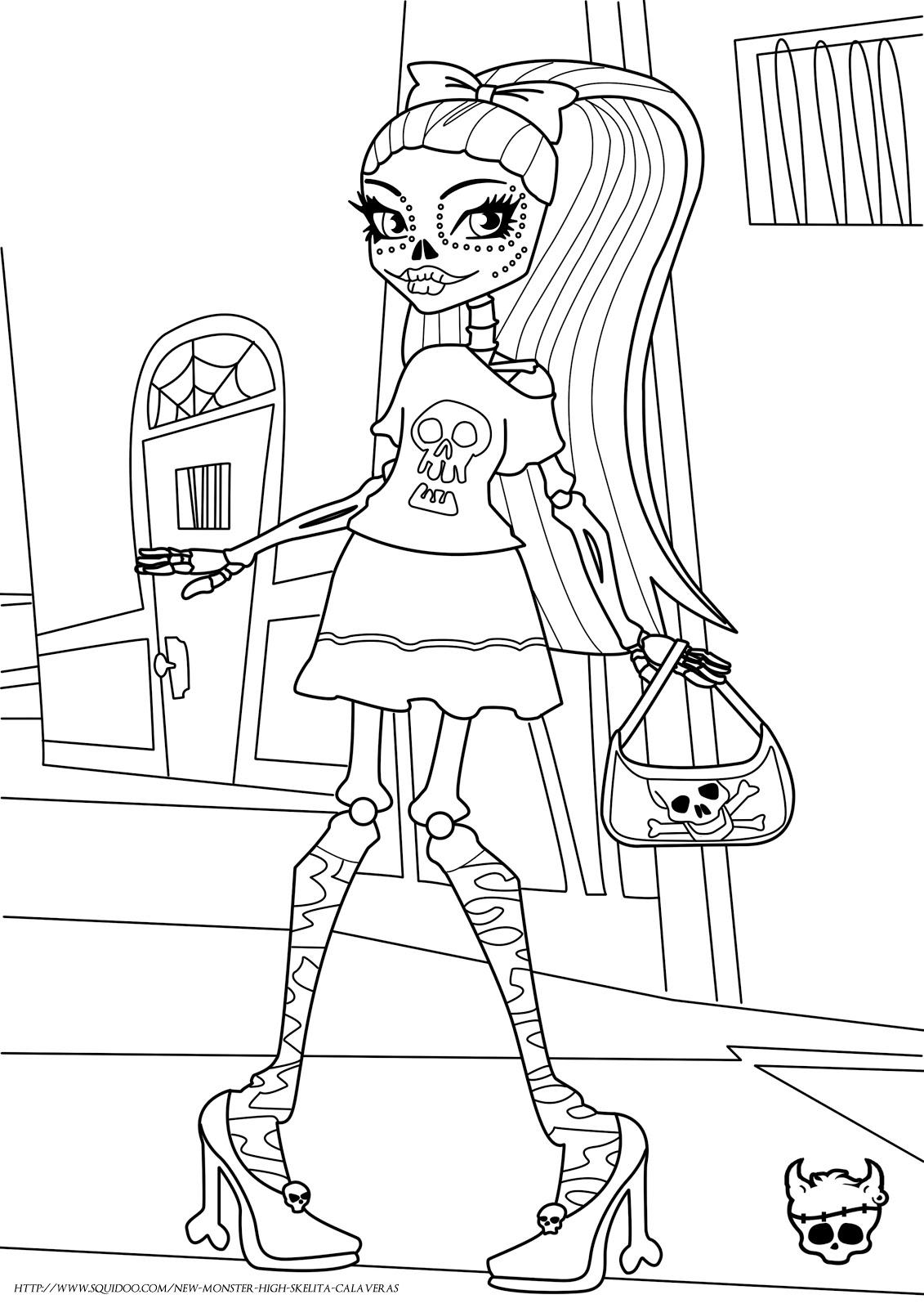 Dibujos para colorear el día de los muertos (62