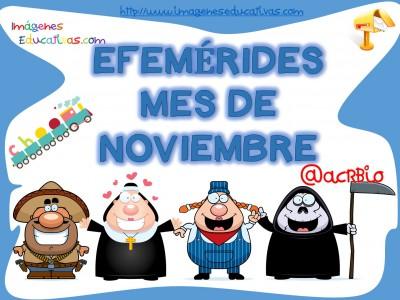 Efemérides mes de noviembre (1)