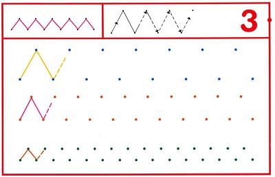 Fichas Grafomotricidad trabajamos la grafia de los números (26)