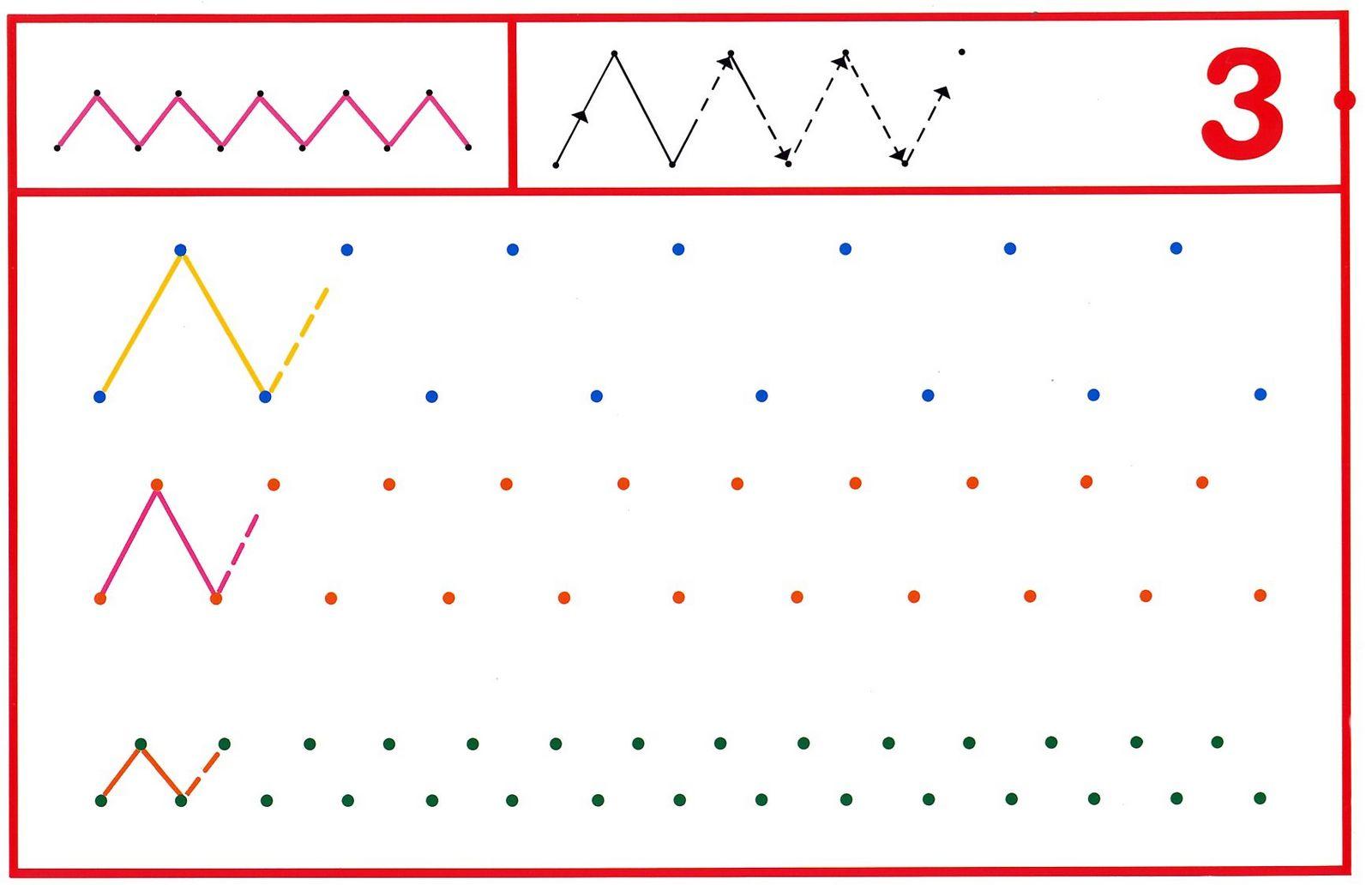 Fichas Grafomotricidad Trabajamos La Grafia De Los Numeros