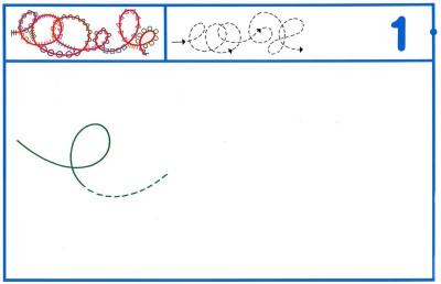 Fichas Grafomotricidad trabajamos la grafia de los números (4)
