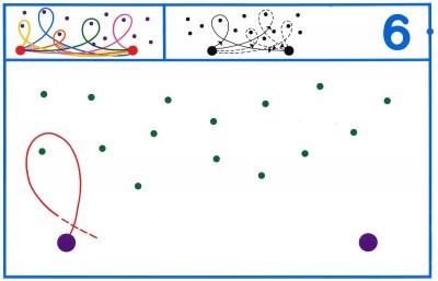 Fichas Grafomotricidad trabajamos la grafia de los números (50)