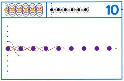 Fichas Grafomotricidad trabajamos la grafia de los números (85)
