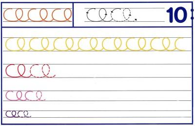 Fichas Grafomotricidad trabajamos la grafia de los números (88)