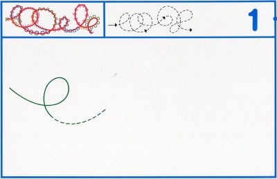 Fichas Grafomotricidad trabajamos la grafia de los números (93)