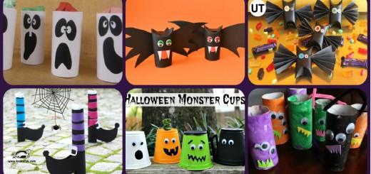 Halloween manualidades para niños Portada
